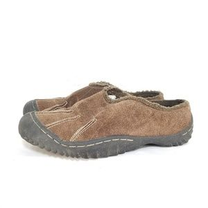 B49 J41 'ABBY' Brown Suede Leather Moc's, 7M